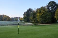 De Cursus van het golf in de Herfst stock fotografie