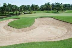 De cursus van het golf in Thailand Royalty-vrije Stock Foto's