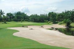 De cursus van het golf in Thailand Royalty-vrije Stock Afbeeldingen