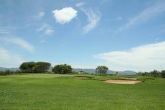 De cursusmening van het golf Royalty-vrije Stock Fotografie