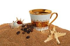 or de cuvette de café image libre de droits