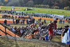 De cyclo Dwars Tsjechische Republiek 2013 van UCI Stock Fotografie