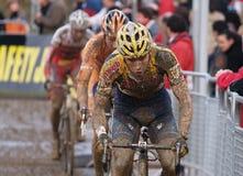 De Cyclocross copo 2008-2009 de mundo Foto de Stock Royalty Free