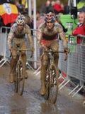 De Cyclocross copo 2008-2009 de mundo Foto de Stock