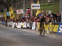 De Cyclocross copo 2008-2009 de mundo Fotografia de Stock Royalty Free