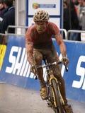 De Cyclocross copo 2008-2009 de mundo Imagem de Stock