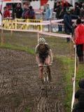 De Cyclocross copo 2010-2011 de mundo em Igorre Fotografia de Stock Royalty Free
