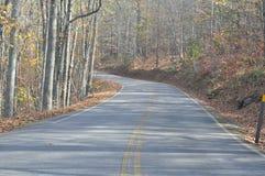 ¿De dónde su camino lleva? Foto de archivo