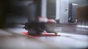 De 3D printer op het werk stock footage