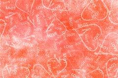 De Dag Abstracte Achtergrond van Valentine vector illustratie