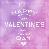 De Dag Abstracte Achtergrond van Valentine stock illustratie