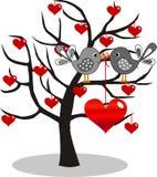 De dag of de verjaardag van valentijnskaarten Stock Afbeeldingen