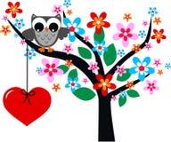 De dag of de verjaardag van valentijnskaarten Stock Fotografie