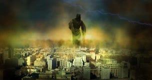De dag des oordeels van de apocalyps stock foto's