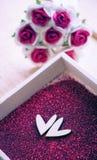 De dag en de liefdeconcept van Valentine Stock Foto