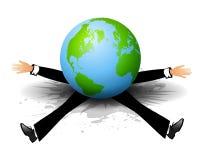 De dag het Gewicht van Wereld Gedode Paul royalty-vrije illustratie