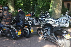 De dag van Amerikanen in lepelstraat in Nederland royalty-vrije stock fotografie