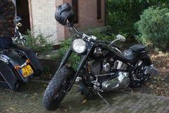 De dag van Amerikanen in lepelstraat in Nederland royalty-vrije stock afbeeldingen