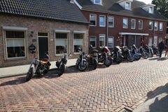 De dag van Amerikanen in lepelstraat in Nederland royalty-vrije stock foto's