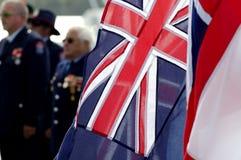 De Dag van Anzac - de HerdenkingsDienst van de Oorlog Stock Foto's