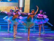 De Dag van de Arbeid van Hua Dan-Ballet-General Trade Union ` s toont Stock Foto