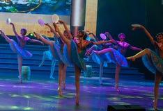 De Dag van de Arbeid van Hua Dan-Ballet-General Trade Union ` s toont Royalty-vrije Stock Afbeelding