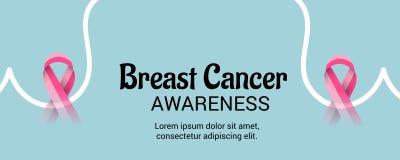 De dag van borstkanker Royalty-vrije Stock Afbeeldingen