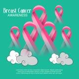 De dag van borstkanker Stock Foto