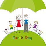 De Dag van de aarde Stock Foto's