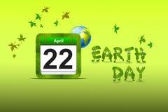 De dag van de aarde. Stock Foto