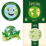 De Dag van de aarde Stock Afbeeldingen