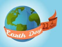 De Dag van de aarde Stock Foto