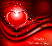 De dag van de abstracte valentijnskaart Royalty-vrije Stock Afbeelding