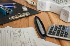 De Dag van de accountant Stock Afbeelding