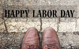 De Dag van de Arbeid is een federale vakantie van Verenigde Staten Amerika Royalty-vrije Stock Afbeelding