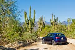 De Dag van de de Testaandrijving van Audi Q5 2017 Royalty-vrije Stock Fotografie
