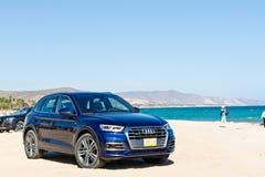 De Dag van de de Testaandrijving van Audi Q5 2017 Stock Afbeeldingen