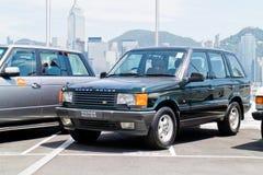 De Dag van de de Testaandrijving van Range Rover 2015 Stock Afbeeldingen