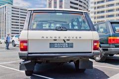 De Dag van de de Testaandrijving van Range Rover 2015 Stock Foto's