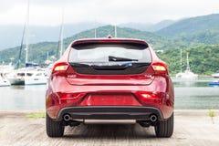 De Dag van de de Testaandrijving van Volvo V40 2016 Stock Afbeelding