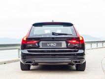 De Dag van de de Testaandrijving van Volvo V90 2017 Royalty-vrije Stock Afbeelding