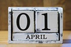 De dag van de dwaas van april Stock Afbeeldingen