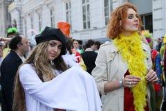 De Dag van de Dwazen van april in de Oekraïne. royalty-vrije stock fotografie