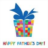 De dag van de gelukkige vader Stock Foto