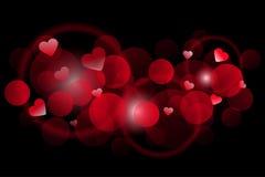 De dag van de gelukkige Valentijnskaart vector illustratie