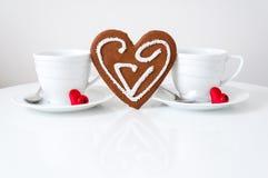 De dag van de gelukkige Valentijnskaart Royalty-vrije Stock Foto's