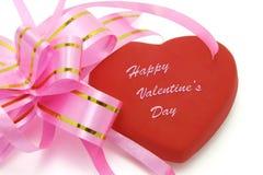 De Dag van de gelukkige Valentijnskaart Royalty-vrije Stock Fotografie