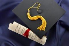 De Dag van de graduatie stock foto's