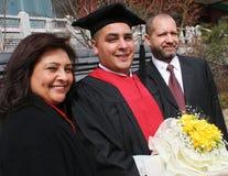 De dag van de graduatie royalty-vrije stock fotografie