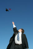 De Dag van de graduatie Stock Foto